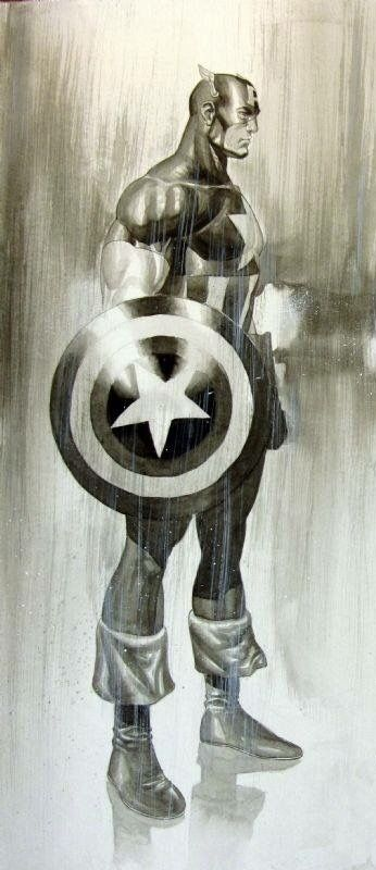 Captain America by Jack Herbert
