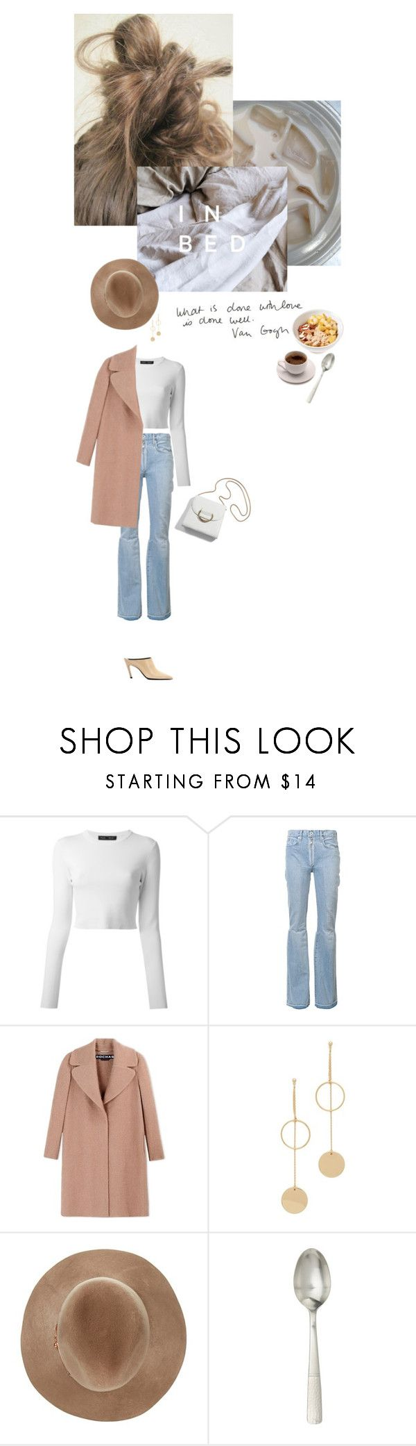 """Agatha"" by loub917 ❤ liked on Polyvore featuring Proenza Schouler, Off-White, Rochas, Vous Etes, Cloverpost, Eugenia Kim, Juliska and Balenciaga"