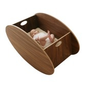 So-ro contemporary cradle.  Too bad it's $790 (cheaper on Zulily, but I don't want to sign up for an account).