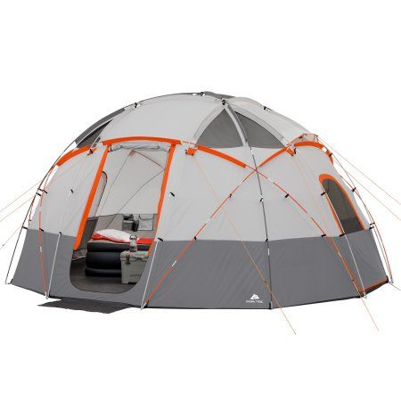 24af052ff9d Ozark Trail 12 Person Base Camp Tent With Light | Products | Tent ...