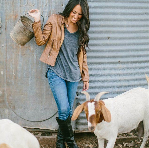 I love Joanna Gaines from Fixer Upper. She has the best style when it comes to home decor and DIY home projects