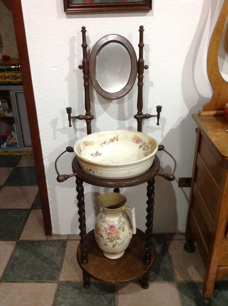 605 Best Do You Love Antique Wash Stands Images On Pinterest