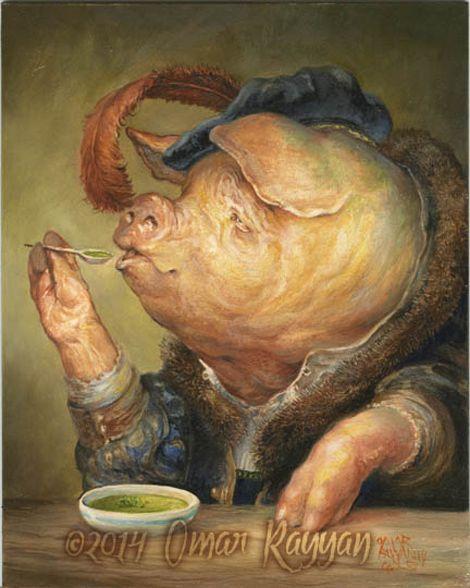 Omar Rayyan - Pea Soup with Pork