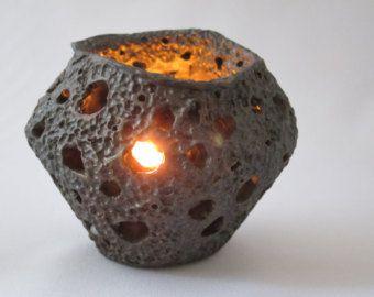 Vela votiva titular linterna cerámica té cerámica luz velador