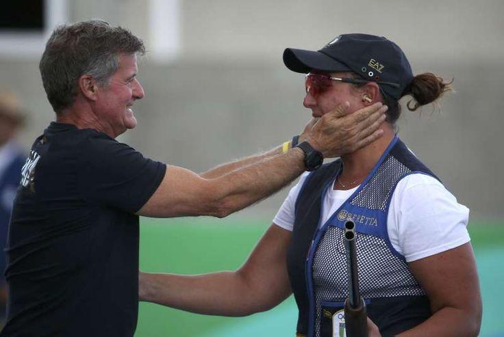 rio olympics 2016 italy | 2016 Rio Olympics - Shooting - Final - Women's Skeet…