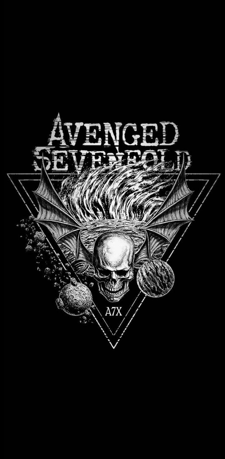 Avenged Sevenfold Wallpaper By Greatalex666 Gaya Rock Wallpaper Kartun Desain