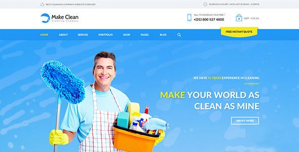20 best web design  cleaning   services images on pinterest