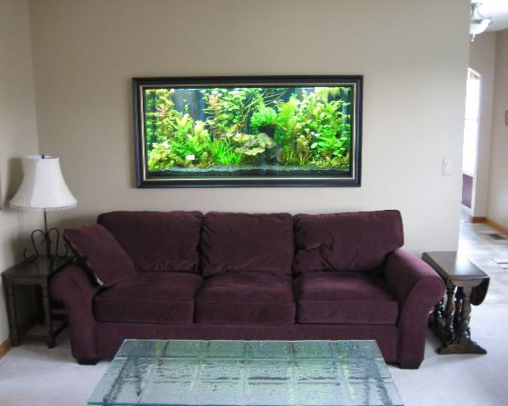 Simple Aquarium Decoration Ideas ~ http://www.lookmyhomes.com/creative-aquarium-decoration-ideas/