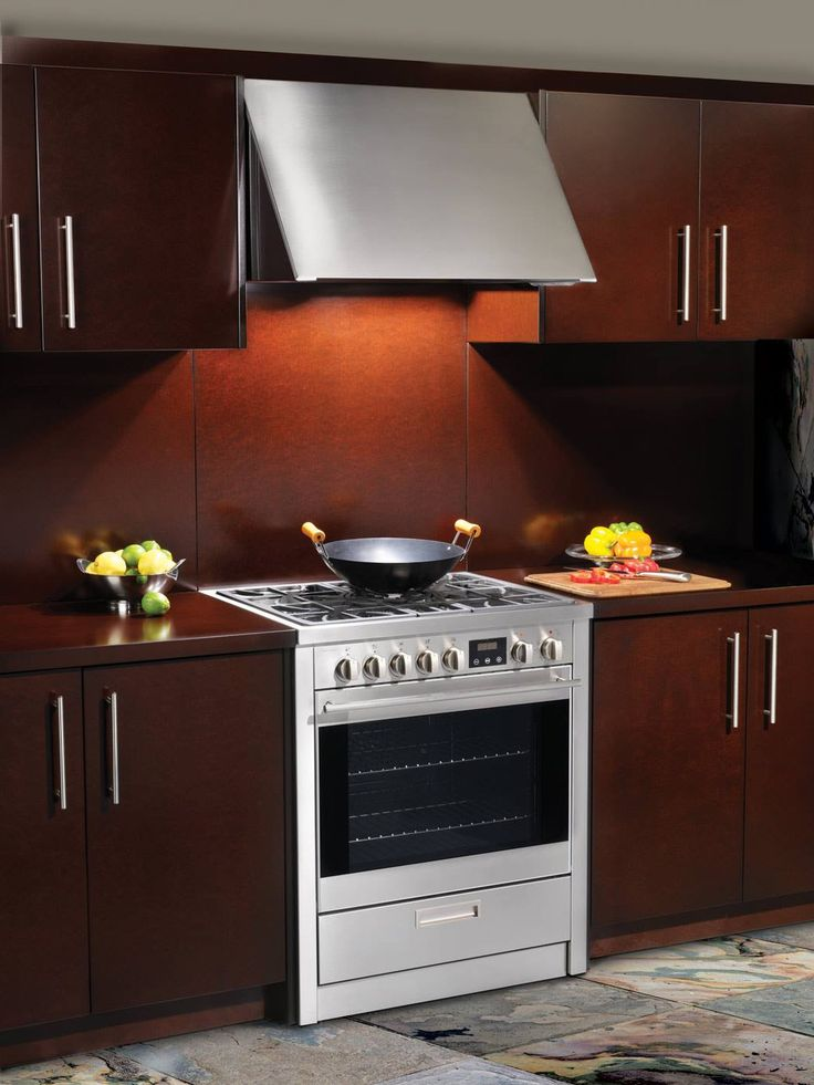 It's obvious that Mr. Porter found his way into Ms. Charles heart with his stylish kitchen and gourmet charm! Our collection of ranges suit everyone's inner chef. #porterandcharles #ranges #kitchenappliances #kitchendesign #interiordesign #homedecor