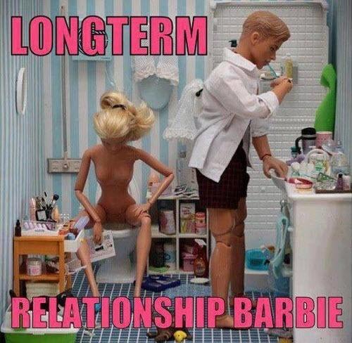 Longterm Relationship Barbie...