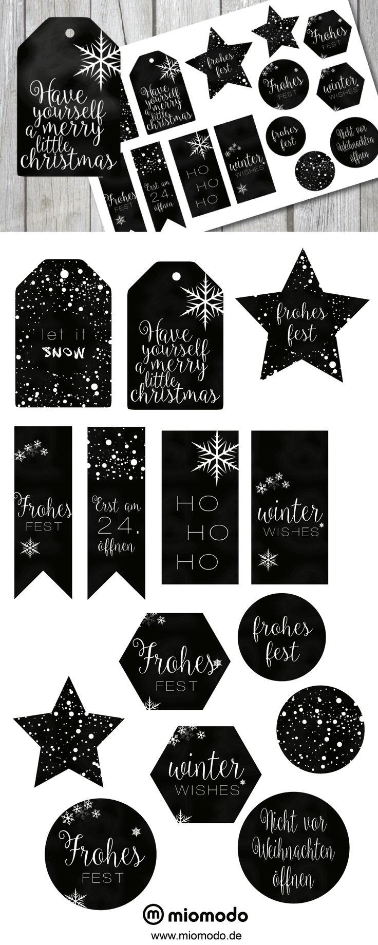 25 einzigartige weihnachts etiketten zum ausdrucken ideen auf pinterest kalender zum. Black Bedroom Furniture Sets. Home Design Ideas