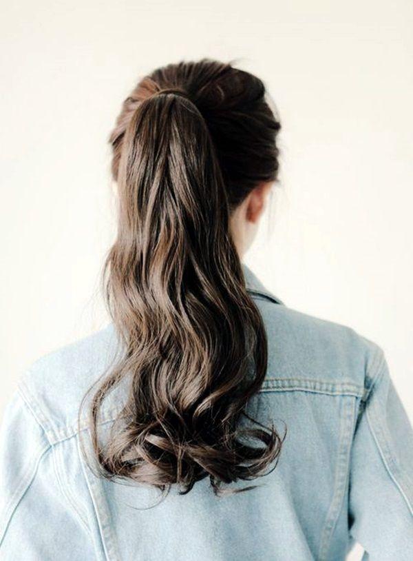 Easy-Back-To-School-Hairstyles-4  Hair Styles, Hair, Long -4101