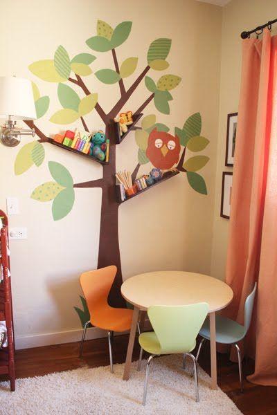 Naifandtastic:Decoración, craft, hecho a mano, restauracion muebles, casas pequeñas, boda: Tutorial: Como hacer un álbol estantería