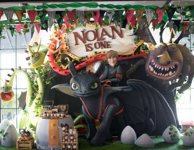 """Dragons  / Birthday """"Calling all vikings... we've got dragons to tame at Nolan's 1st birthday party"""" 
