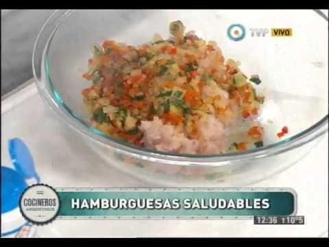 Hamburguesas de pescado con papas cuña para chicos - YouTube