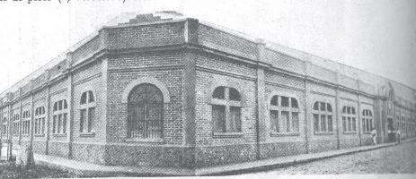 Compañía Colombiana de Tabaco, en Cali, Barrio San Nicolás, 1928 Tomada de LOPEZ, Eduardo: Almanaque de los hechos colombianos, 1929