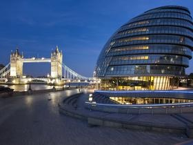 Proshots - City Hall and Tower Bridge, London, England - Professional Photos