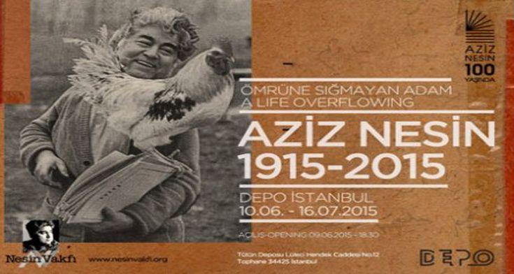 Aziz Nesin Sergisi Açılıyor... http://724kultursanat.com/aziz_nesin_sergisi/  #aziznesin #sergi #edebiyat #roman #kitap