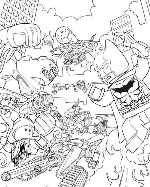 Lego Batman Coloring Pages Best Coloring Pages For Kids Lego Coloring Pages Superhero Coloring Pages Lego Coloring