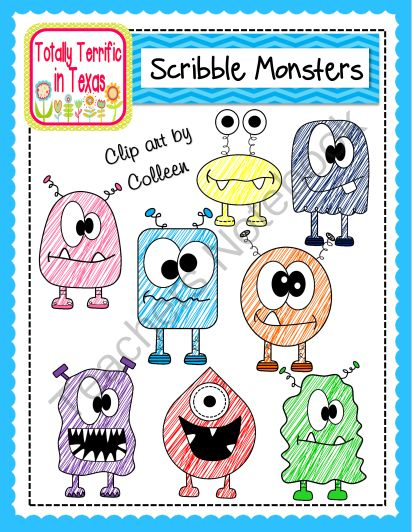 Scribble Drawing Lesson Plan : Best images about clip art on pinterest to