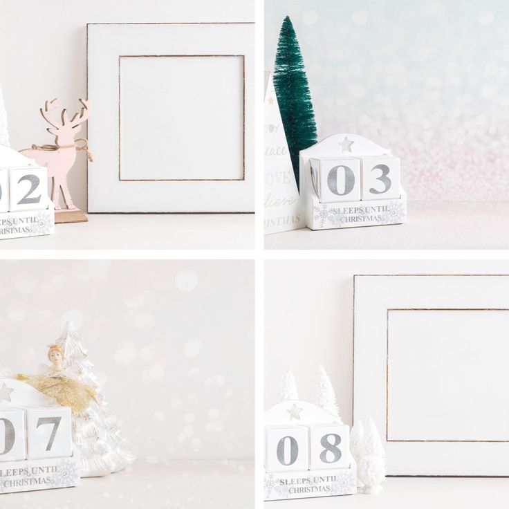 """Sleeps to Christmas"" bundle. 24 Christmas styled stock images, a different image for the 24 days leading up to Christmas. All the work is done for you, just overlay your Christmas message. 30% off till midnight on 30th December, enter 30OFF at checkout."