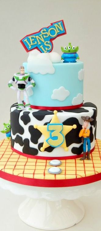 how to make a toy story cake