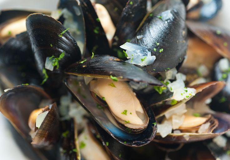 Thai Blue Mussels