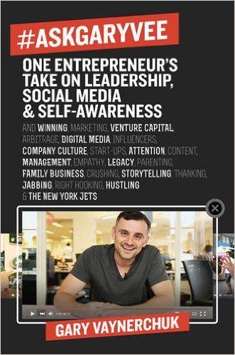 #AskGaryVee: One Entrepreneur's Take on Leadership, Social Media, and Self-Awareness Hardcover – March 8, 2016 by Gary Vaynerchuk http://www.amazon.com/gp/product/0062273124?creativeASIN=0062273124&linkCode=w00&linkId=QMDXHLVG52ZRN5MF&ref_=as_sl_pc_qf_sp_asin_til&tag=hustleheart-20