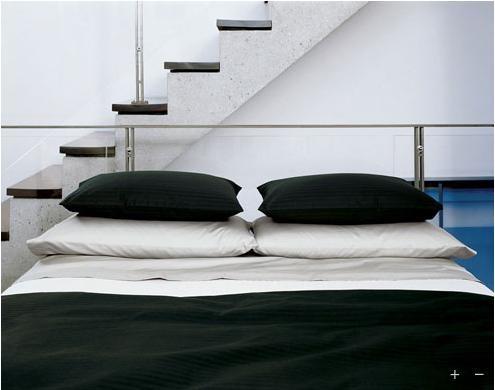 :: BEDROOMS :: i love bold black for the bedroom #bedrooms