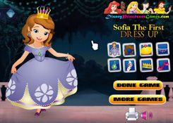 SofiaJuegos.com - Juego: Vestir Princesita Sofia - Princesas Disney Online
