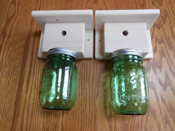 2 Carpenter Bee traps  Wood Boring Bee Traps by RecycleWoodCrafts, $38.00