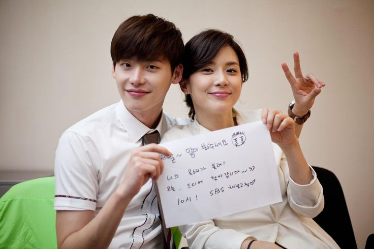 CONGRATS: Lee Bo Young and Lee Jong Suk awarded best Kdrama couple for I Hear Your Voice
