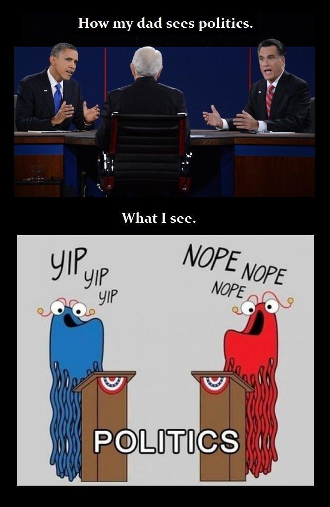 Politics View. Hahaha I really do try to stay in the loop with politics but most of the time... nope