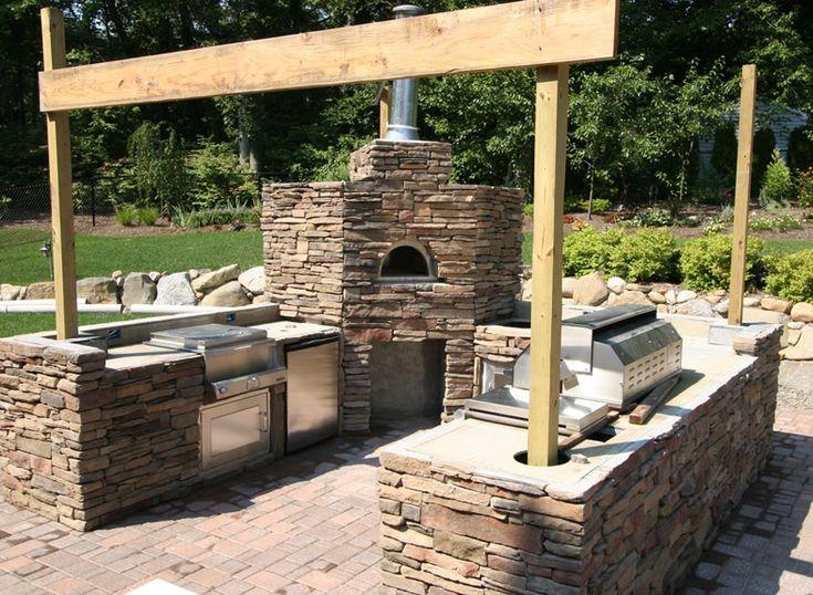 Flagstone Patio, Pizza Ovens