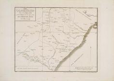 Mapa de la parte septentrional del Reino de Valencia que comprende casi toda la Provincia de Castellón desde el río Mijares ...Escala [ca. 1: 1.800], entre 1801 y 1900.