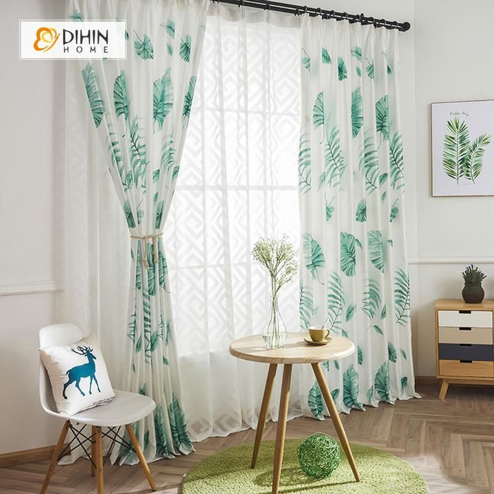 10+ Best Tropical Curtains For Living Room