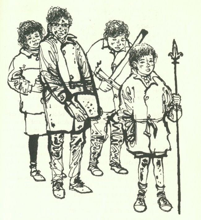 The anti-Narnia: Elidor by Alan Garner | tygertale Art by Charles Keeping