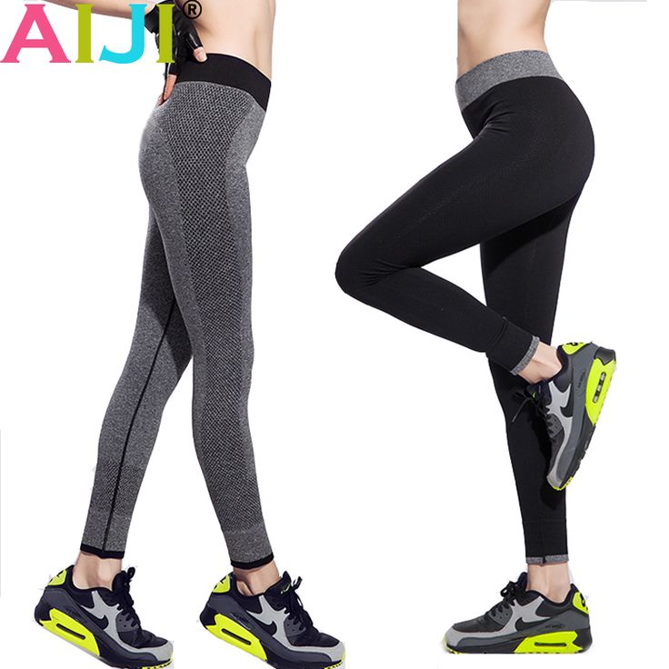 Running Tights women High Waist Stretched Breathable Sport Gym Tights Quick dry Yoga Pants women Fitness Leggings Elastic Capris