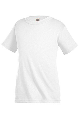 2d84466ea Delta Apparel Kids Youth Boys or Girls Plain Basic T-Shirt | Tops ...