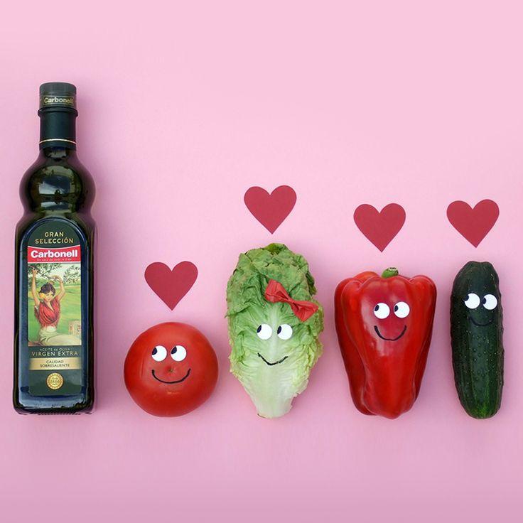 Enamorados y comprometidos con la salud #Alimentación #Salud #Aceite #Carbonell