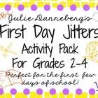 First Day Jitters? Perfect graphic organizers and extension activities to help support your book study of First Day Jitters by Julie Danneberg. Wonderful resource for back to school!