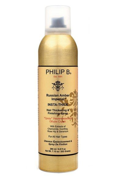 PHILIP B® 'Russian Amber Imperial™' Insta-Thick Hair Thickening Spray available at #Nordstrom