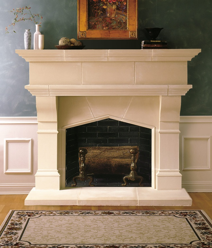 121 best cast stone fireplace mantels images on pinterest
