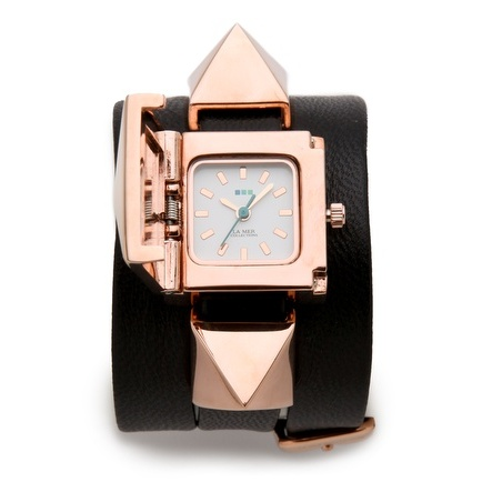 Pyramid Wrap Watch by La Mer Collections
