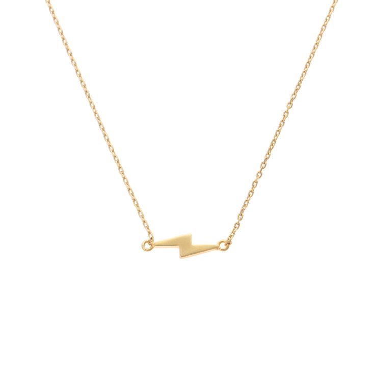 Buy the Lightning Strike Necklace at Oliver Bonas. Enjoy free worldwide standard delivery for orders over £50.