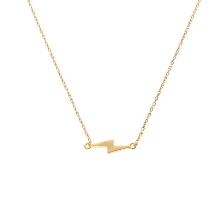Buy the Lightning Strike Necklace at Oliver Bonas. Enjoy free worldwide standard delivery for orders over £50.