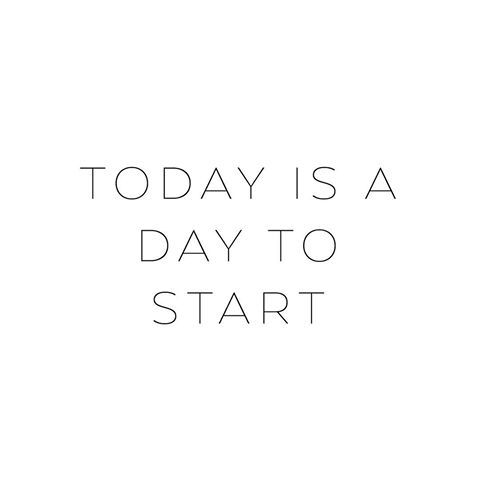 Today is a day to start ♡ • #mapsandletters_motto