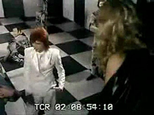Sorrow (Behind The Scenes)   Amanda Lear & David Bowie