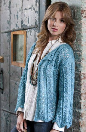 Seaside Cardigan...... Free Pattern!!
