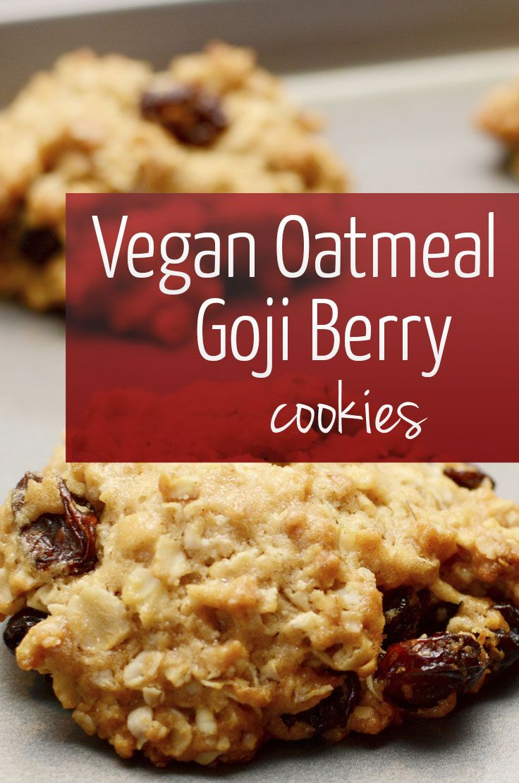 Super healthy goji berry cookies recipes